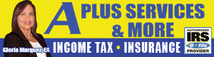 A Plus Services & More, Inc. – Taxes and Insurance
